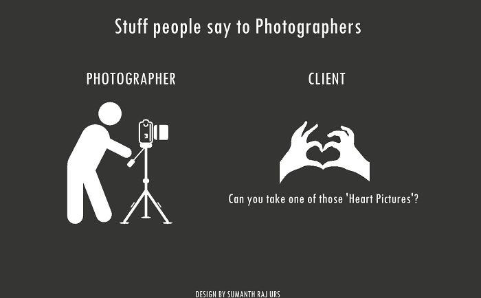 Stuff People Say To Photographers!