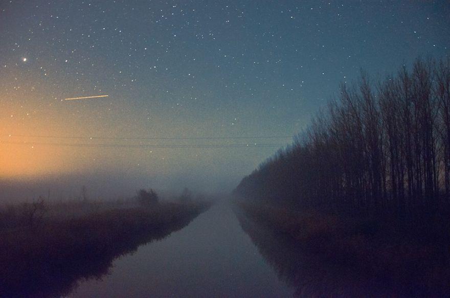 Starry Night Sky By János Kovács