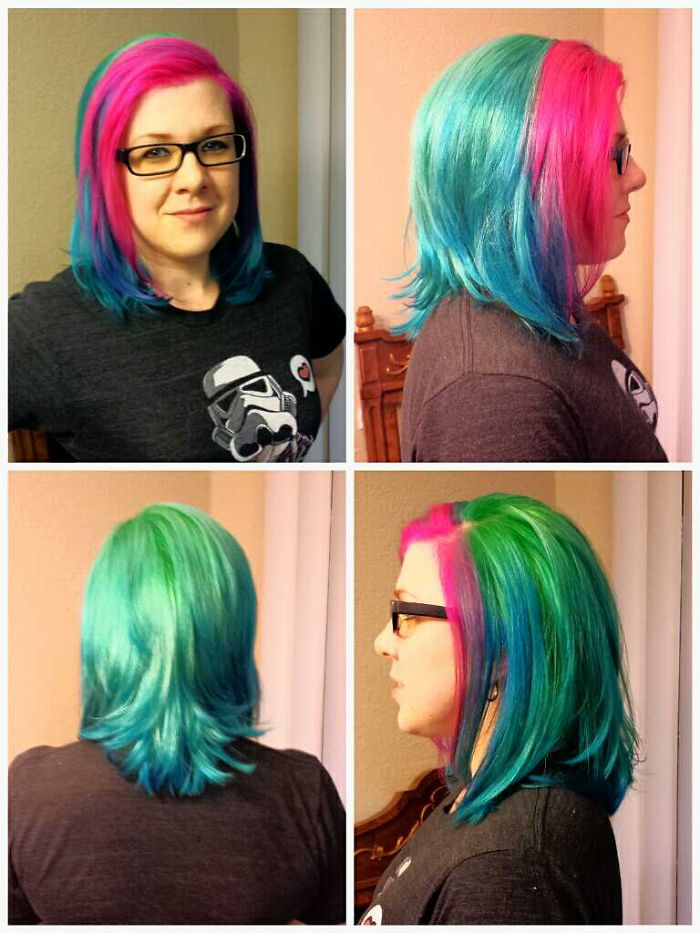 Color Melt, Transitional Neon Coloring