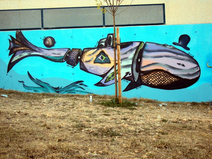 Floekunos Covers Streets In Endangered Animals' Murals