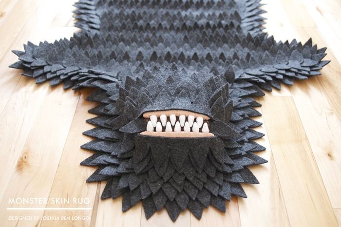 No Monsters Were Harmed In The Making Of This Rug