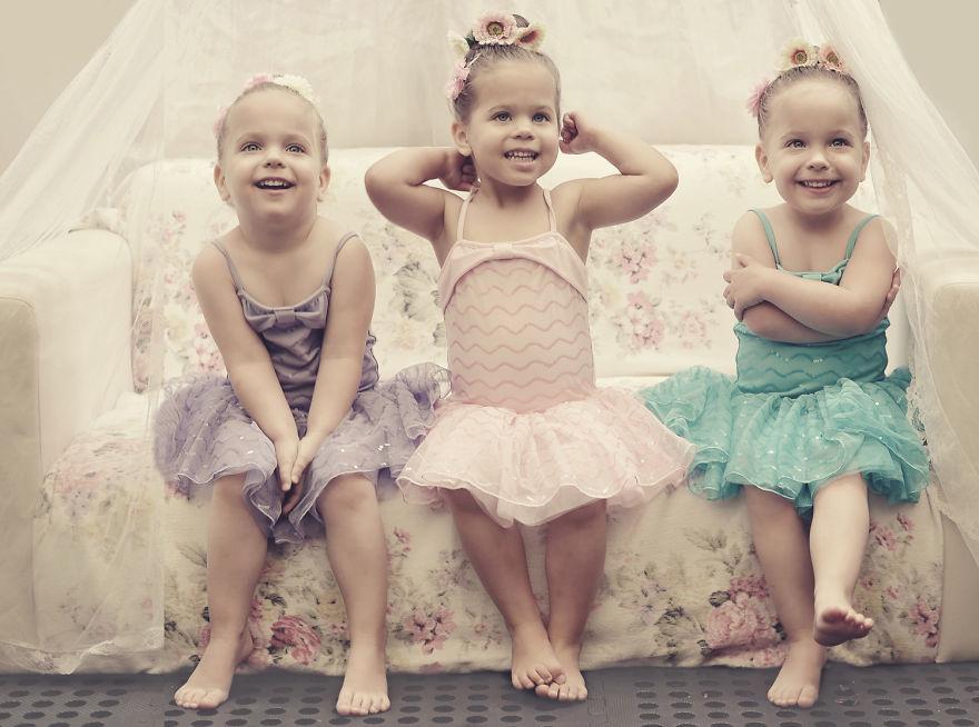 Смешные картинки 3 девочки, доброе утро