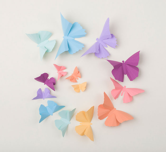 I Make 3D Paper Wall Decorations To Fix Boring, Flat Walls