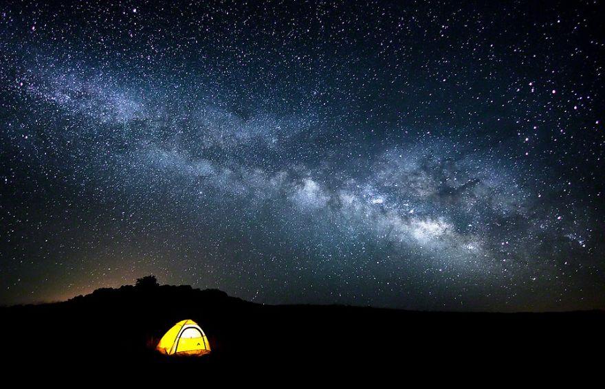Under The Starry Night Sky