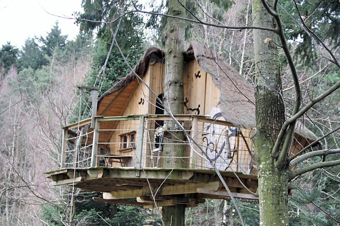 A Treehouse Village In The Heart Of Ardèche