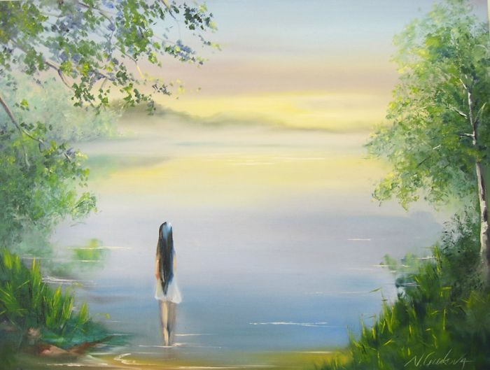 A Yearning Hope, 18*24, Oil On Canvas By Nadia Gurkova Www.nadiagurkova.com Or Www.faceboo