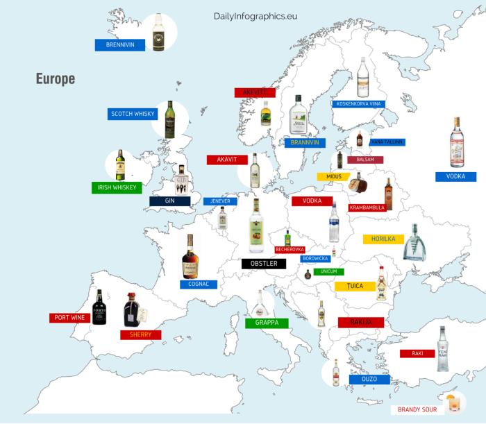 Six Alternative Maps Of Europe