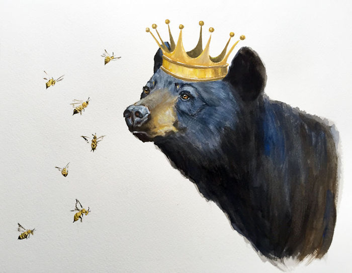 Meet The Royals: I Paint Animals To Help Them Survive
