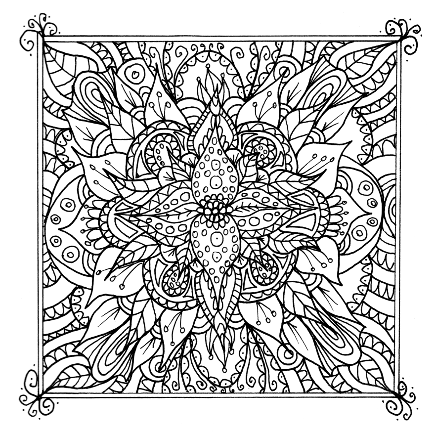 colorama coloring pages printable - photo#2