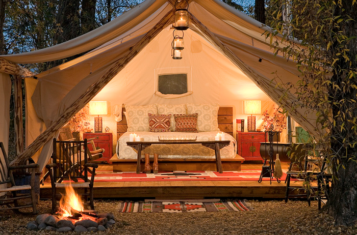 Camping In Style!