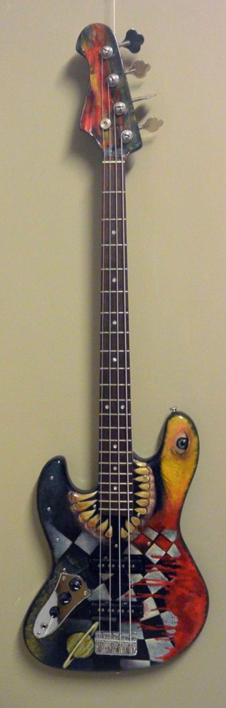 My Custom Painted Guitars