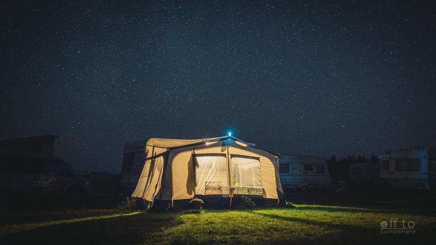 Night In A Camp