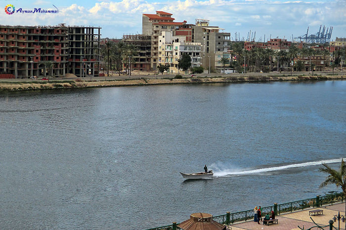 So Fast At Nile River Damietta, Egypt