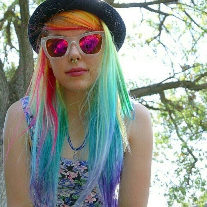 Rainbow Meg