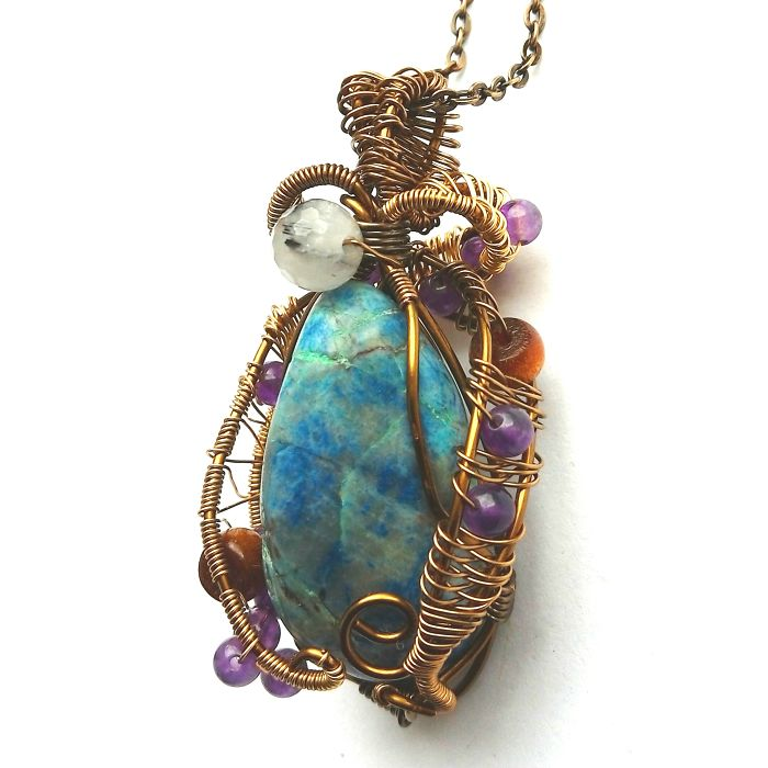 Mystical & Magical Handmade Muli Gemstone Pendant