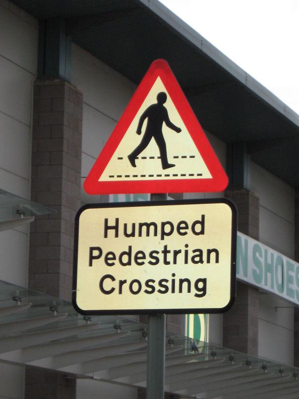 Humped Pedestrian Crossing In Scotland
