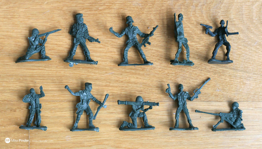 How To Make DIY Fruit Bowl Of Melted Plastic Army Men