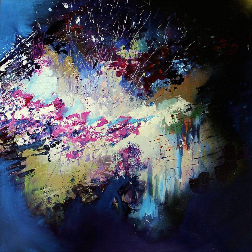 Pesničky od radiohead, bowieho či lenona ako abstraktné maľby?