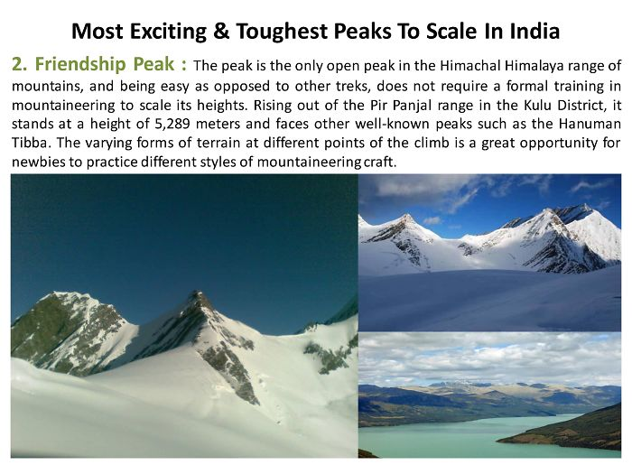 Most Exciting & Toughest Peaks To Scale In India