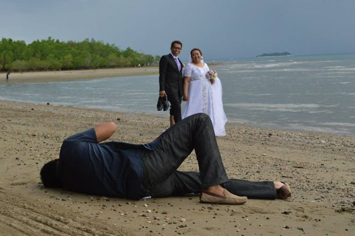 The Photographer On My Wedding Day