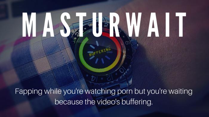 Masturwait