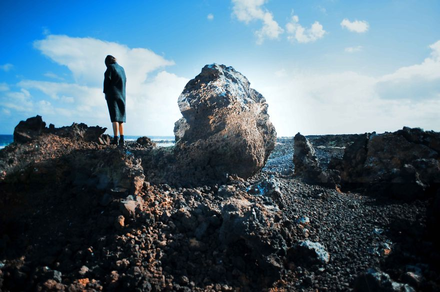 Moonscape Island: I Entered Another World Through Surreal Photography