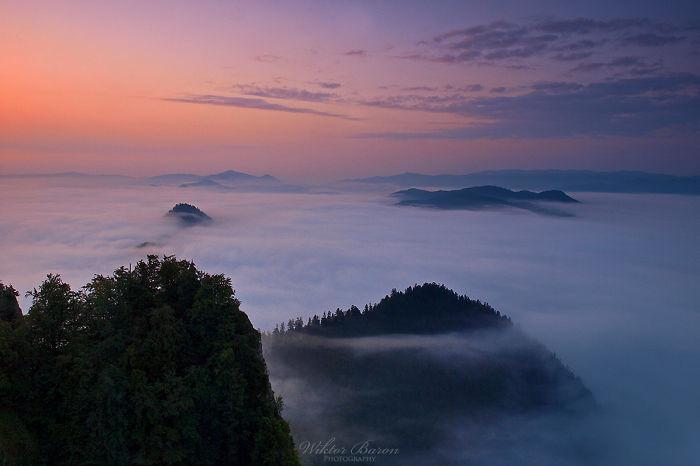 Pieniny Mountains In Poland