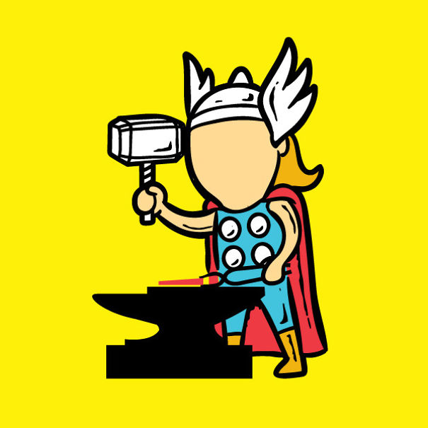 Superheroes' Part-Time Jobs: Because No One Pays Them For Saving The World
