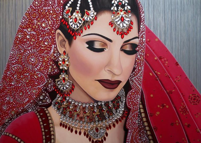 Preeti Ruby Indian Bride – By: Malinda Prud'homme
