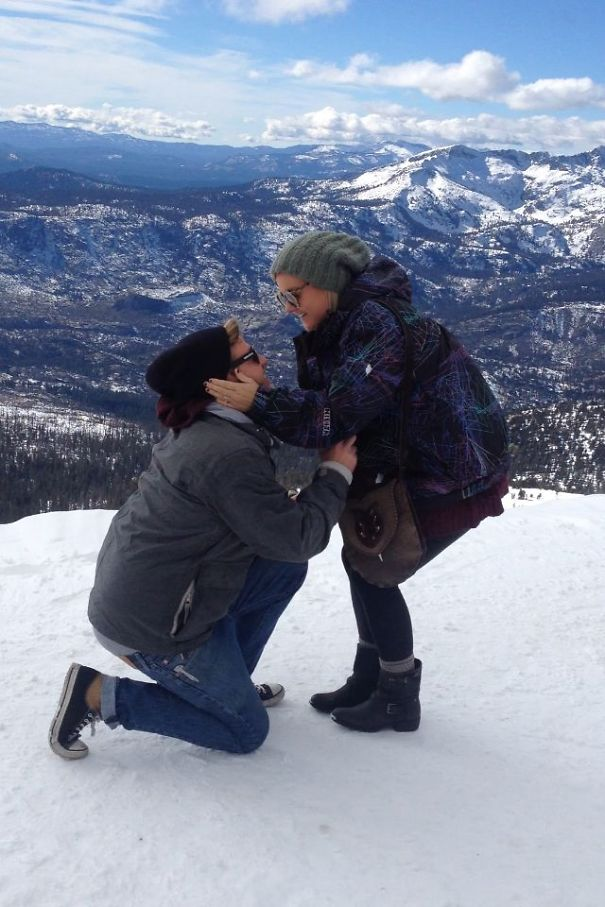 We're Getting Married! On Top Of A Mountain! (mammoth) And There's Going To Be Flutes Playing...