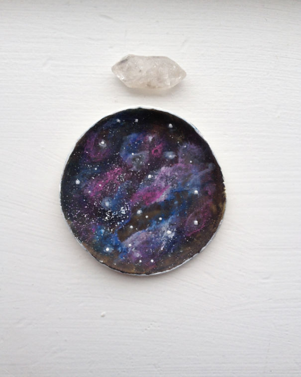 Galaxy Ring Trinket Dish