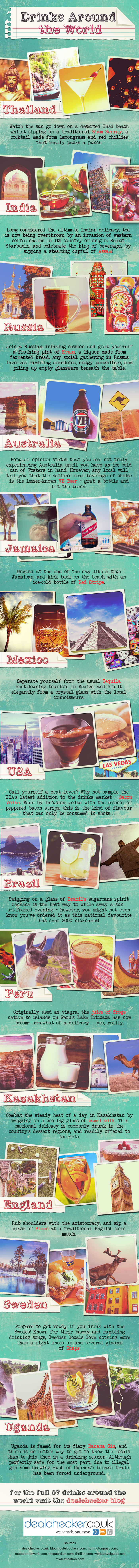 57 Drinks Around The World You Have To Try!