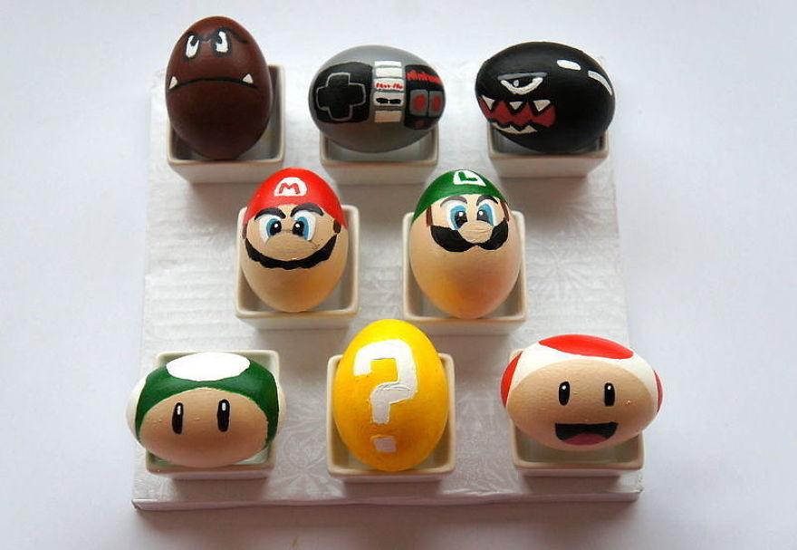 Mario Eggs!