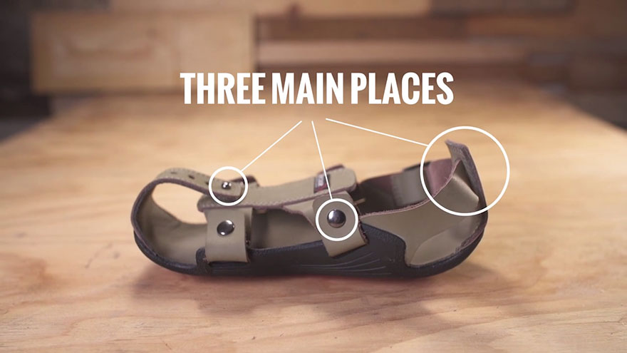 Marvelous Adjustable Sandal Poor Children The Shoe That Grows