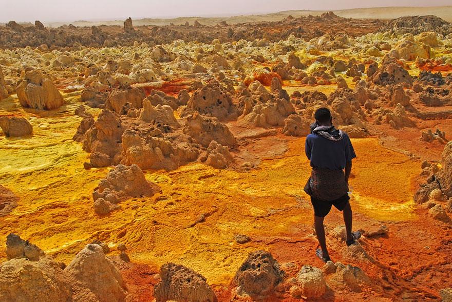Dallol Volcano, Ethiopia