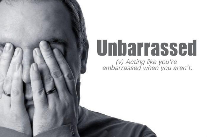 Unbarrassed