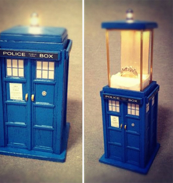Proposing With A Magical Doctor Who Box