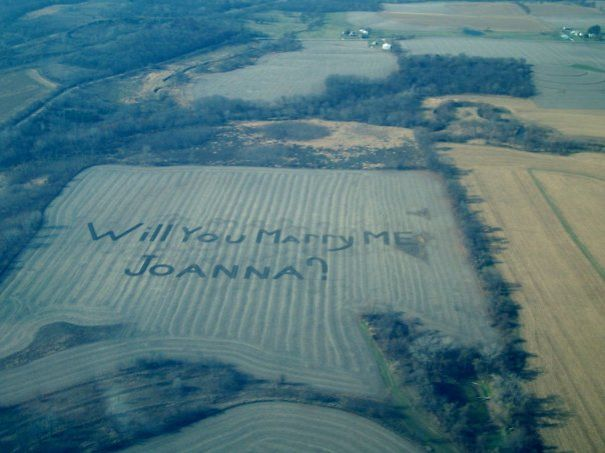 Proposal In The Fields