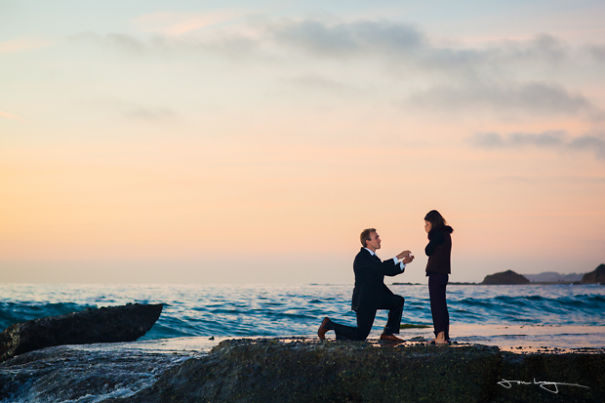 Beach Marriage Proposal