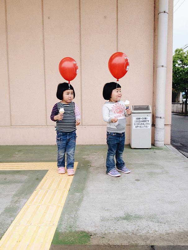 childhood-twin-sisters-family-pictures-sunmoooon-akira-oozawa-15