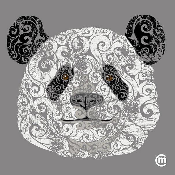 colorful-illustrations-swirly-animals-carolina-matthes-3