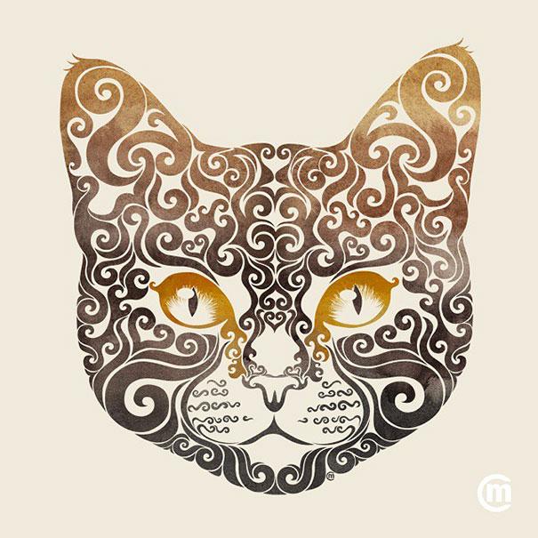 colorful-illustrations-swirly-animals-carolina-matthes-6