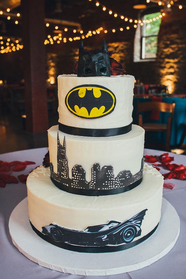Batman Wedding Cake Bored Panda