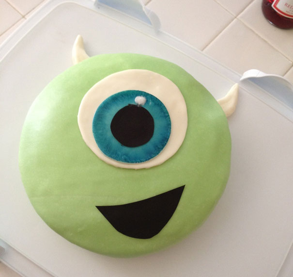 Mike From Monsters, Inc. Cake