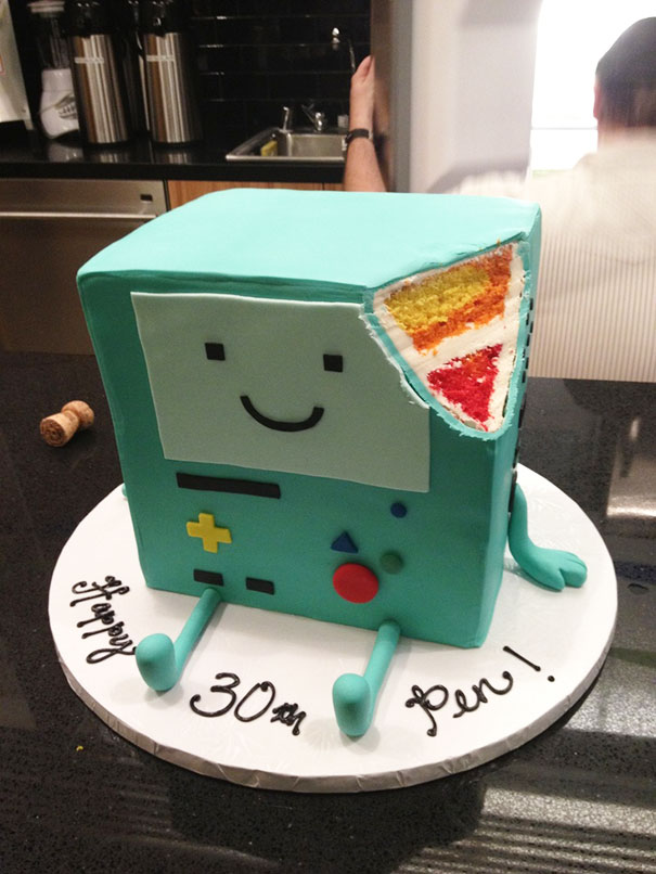 Cake Design Adventure Time : 20+ More Creative Cakes That Are Too Cool To Eat Bored Panda