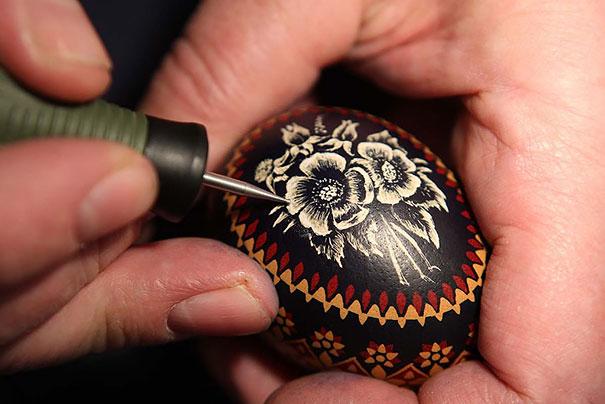 Engraved Easter Eggs