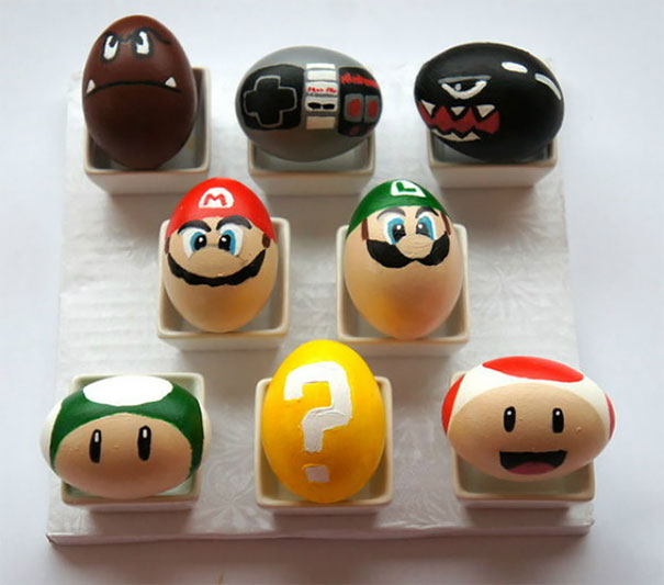 Super Mario Bros. Easter Eggs