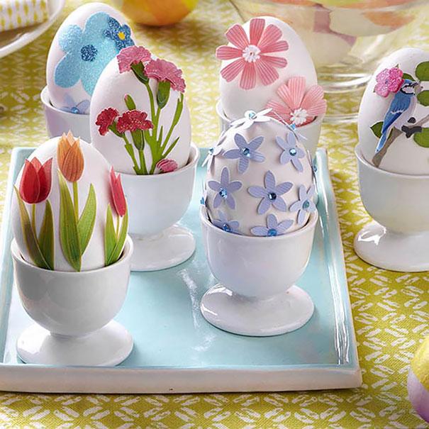 Flower Easter Eggs