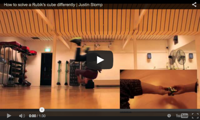 How To Solve A Rubik's Cube Differently   Justin Stomp