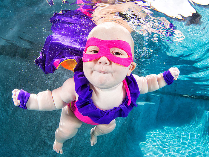 Underwater Babies: Photographer Takes Adorable Photos To Raise Awareness Of Drowning Children